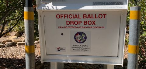 Ballot Dropoff Box